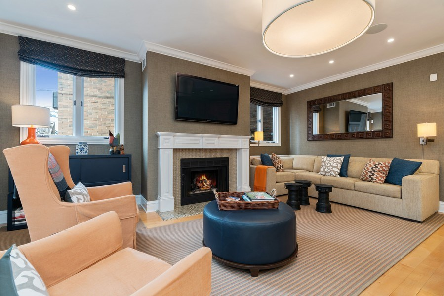 Real Estate Photography - 1710 N. Burling, Chicago, IL, 60614 - Family Room