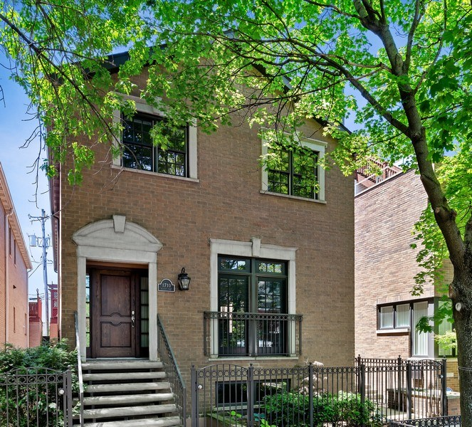 Real Estate Photography - 1710 N. Burling, Chicago, IL, 60614 - Front View