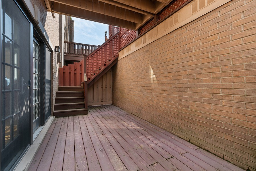 Real Estate Photography - 1710 N. Burling, Chicago, IL, 60614 - Deck