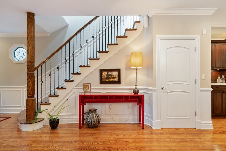 Real Estate Photography - 1710 N. Burling, Chicago, IL, 60614 - Staircase
