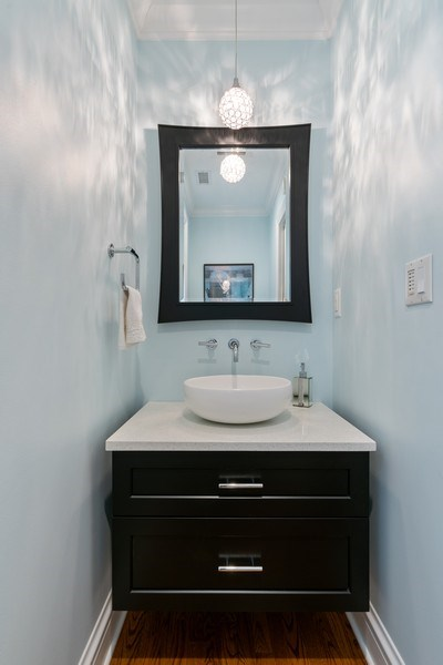 Real Estate Photography - 1710 N. Burling, Chicago, IL, 60614 - Bathroom