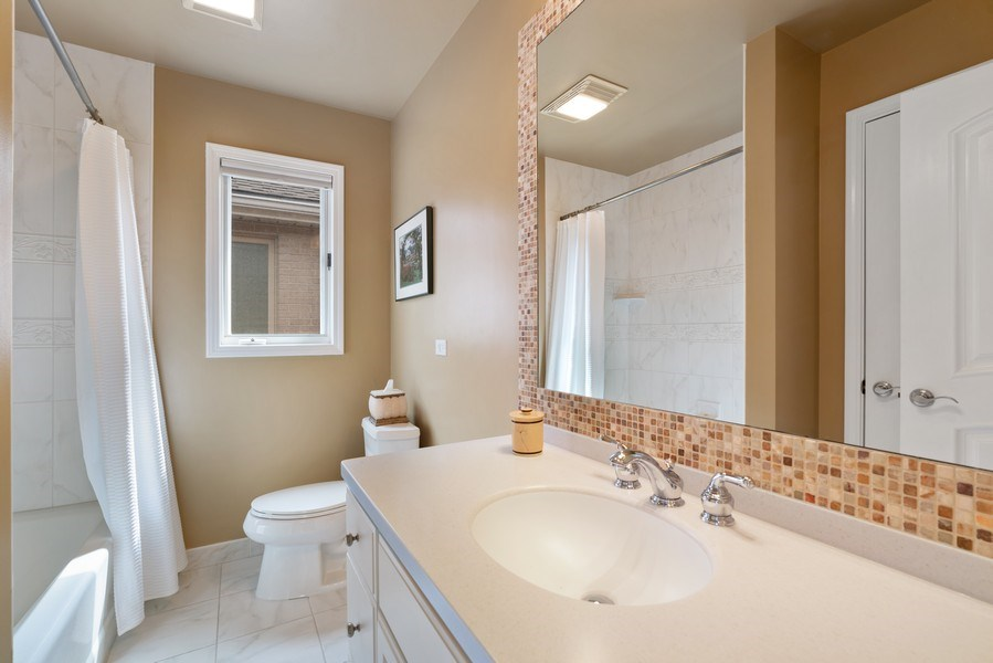 Real Estate Photography - 1710 N. Burling, Chicago, IL, 60614 - 2nd Bathroom