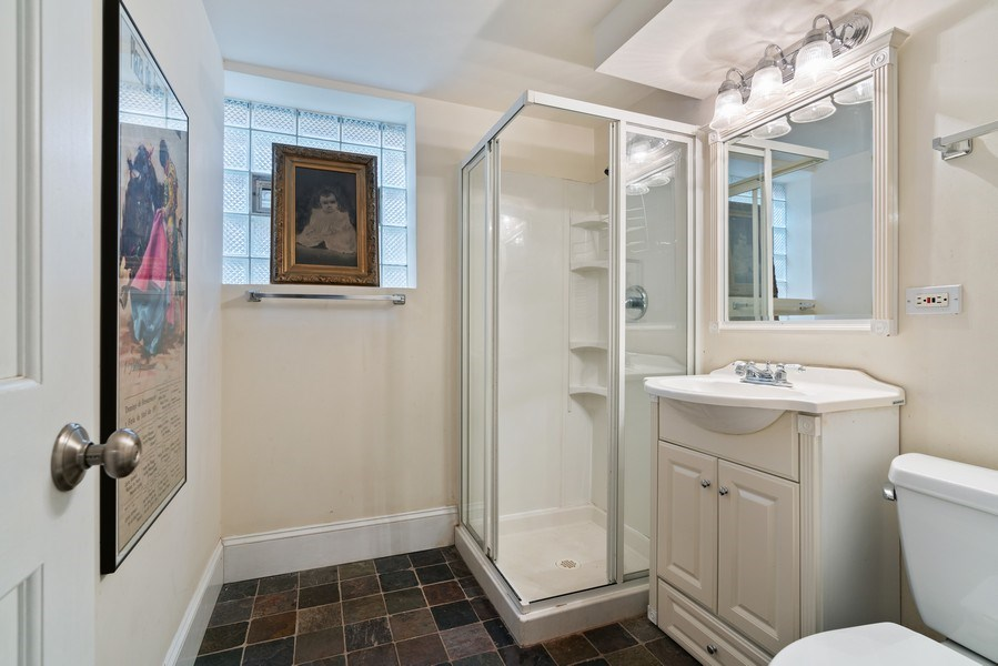 Real Estate Photography - 3903 N Lawndale Ave, Chicago, IL, 60618 - 3rd Bathroom