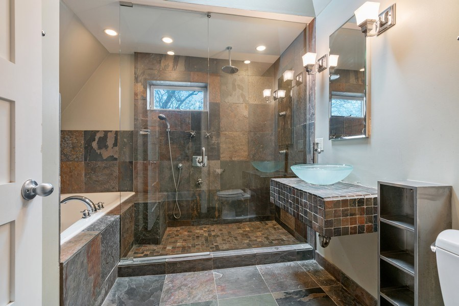 Real Estate Photography - 3903 N Lawndale Ave, Chicago, IL, 60618 - Master Bathroom