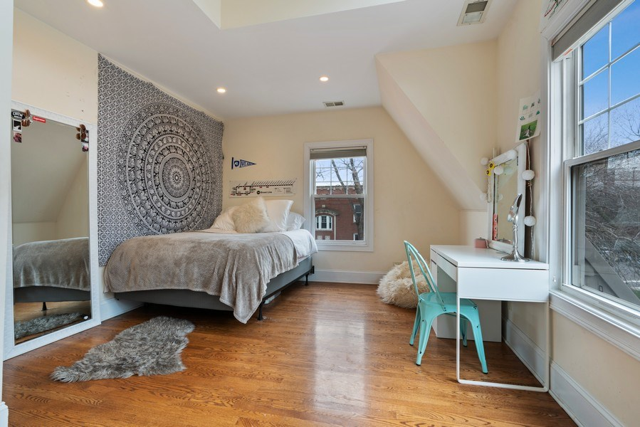 Real Estate Photography - 3903 N Lawndale Ave, Chicago, IL, 60618 - 2nd Bedroom