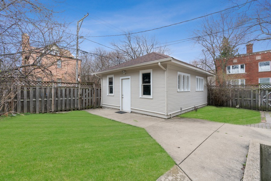 Real Estate Photography - 3903 N Lawndale Ave, Chicago, IL, 60618 - Back Yard