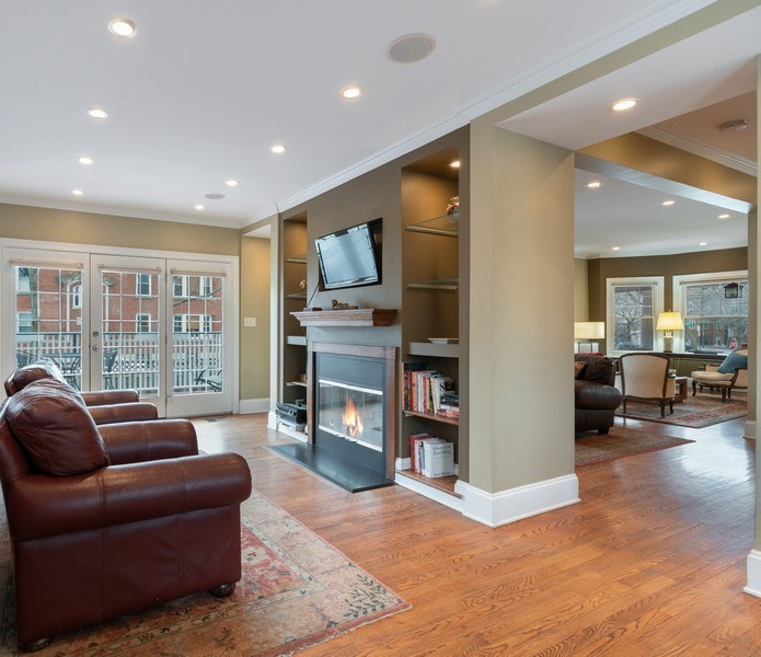 Real Estate Photography - 3903 N Lawndale Ave, Chicago, IL, 60618 - Family Room