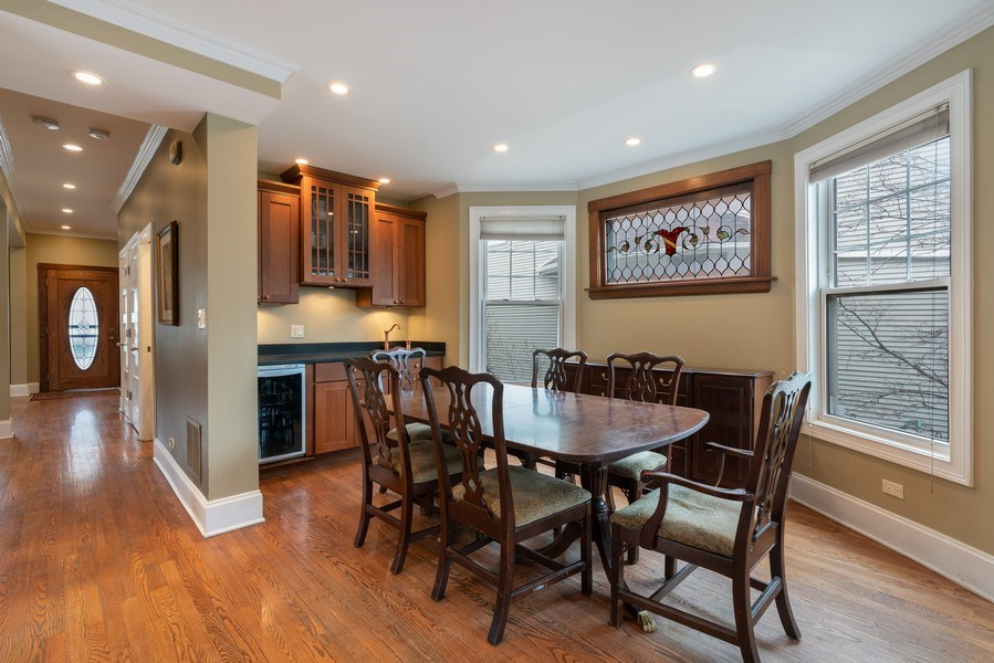 Real Estate Photography - 3903 N Lawndale Ave, Chicago, IL, 60618 - Dining Room