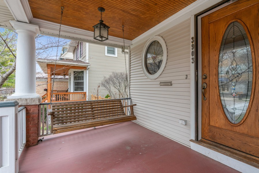 Real Estate Photography - 3903 N Lawndale Ave, Chicago, IL, 60618 - Porch