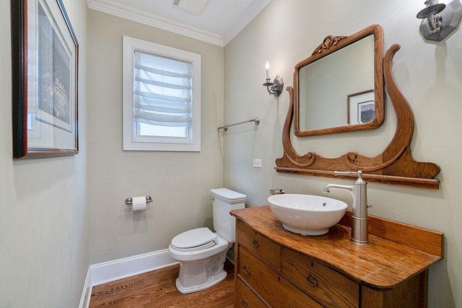 Real Estate Photography - 3903 N Lawndale Ave, Chicago, IL, 60618 - Bathroom