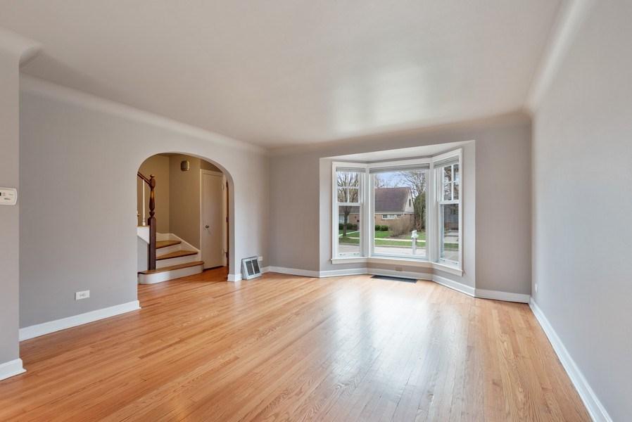 Real Estate Photography - 1621 Brummel St, Evanston, IL, 60202 - Living Room