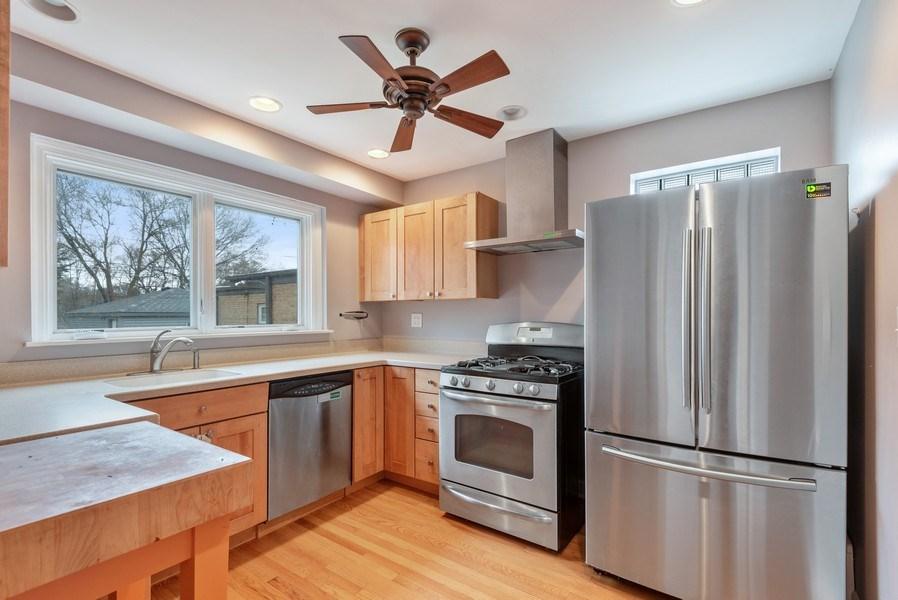 Real Estate Photography - 1621 Brummel St, Evanston, IL, 60202 - Kitchen