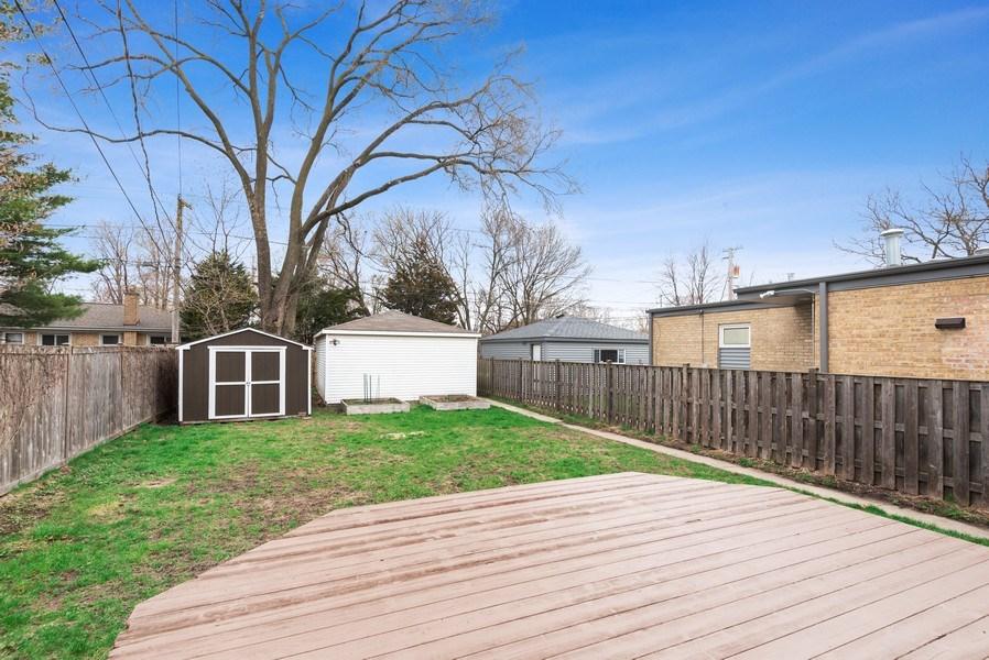 Real Estate Photography - 1621 Brummel St, Evanston, IL, 60202 - Back Yard