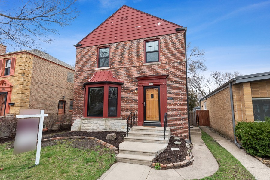 Real Estate Photography - 1621 Brummel St, Evanston, IL, 60202 - Front View