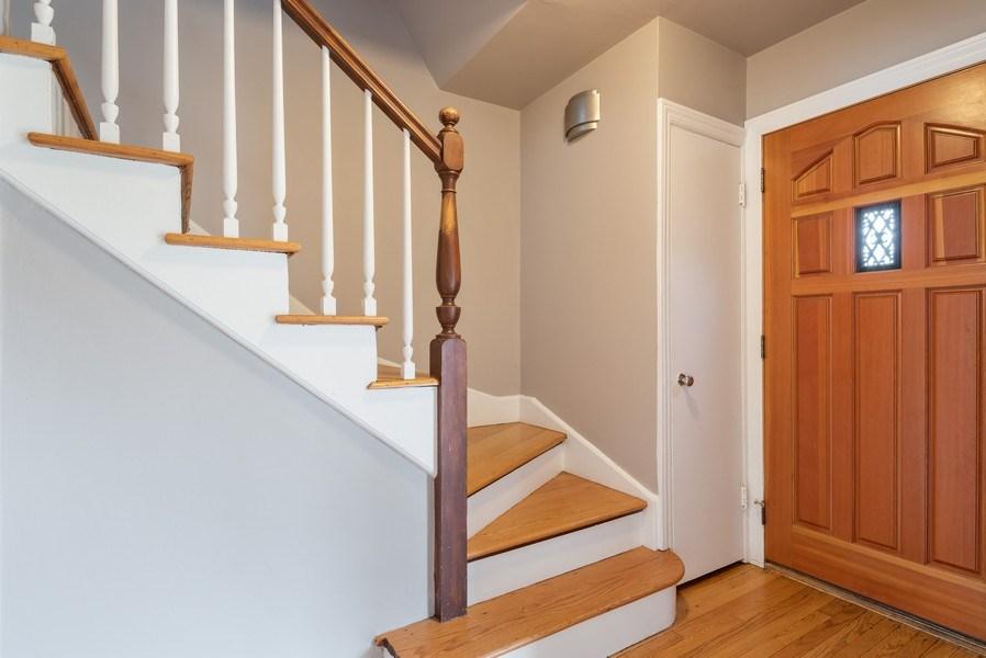 Real Estate Photography - 1621 Brummel St, Evanston, IL, 60202 - Foyer