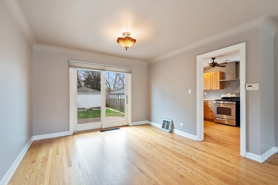 Real Estate Photography - 1621 Brummel St, Evanston, IL, 60202 - Dining Room