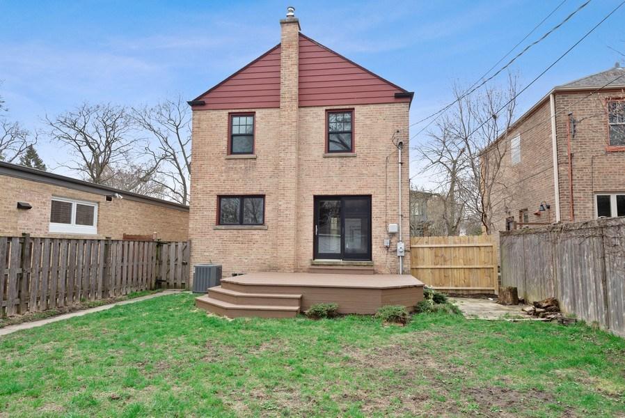 Real Estate Photography - 1621 Brummel St, Evanston, IL, 60202 - Rear View