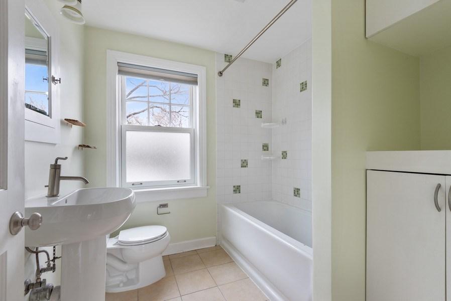 Real Estate Photography - 1621 Brummel St, Evanston, IL, 60202 - Bathroom