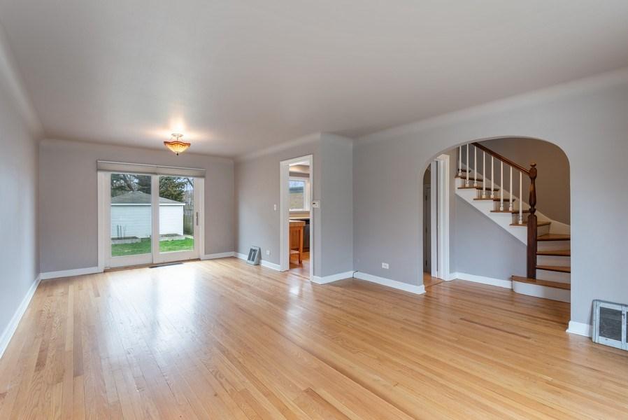Real Estate Photography - 1621 Brummel St, Evanston, IL, 60202 - Living Room / Dining Room