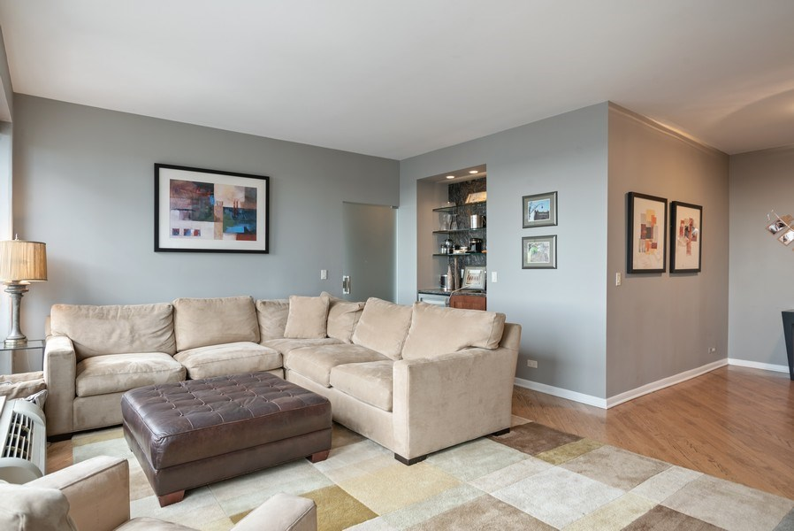 Real Estate Photography - 111 E Chestnut 57KJ, Chicago, IL, 60611 - Family Room