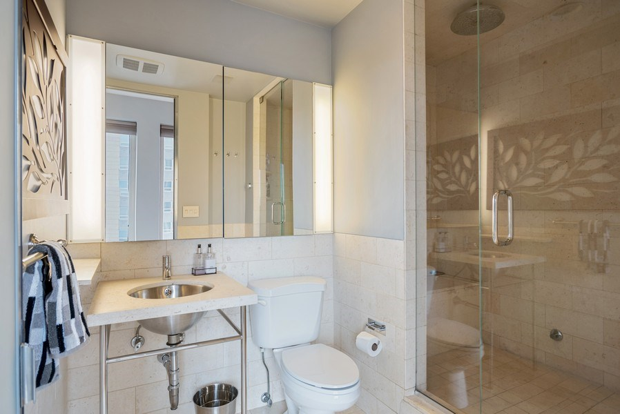Real Estate Photography - 111 E Chestnut 57KJ, Chicago, IL, 60611 - Bathroom