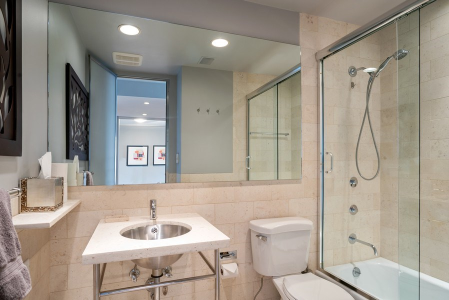 Real Estate Photography - 111 E Chestnut 57KJ, Chicago, IL, 60611 - 2nd Bathroom