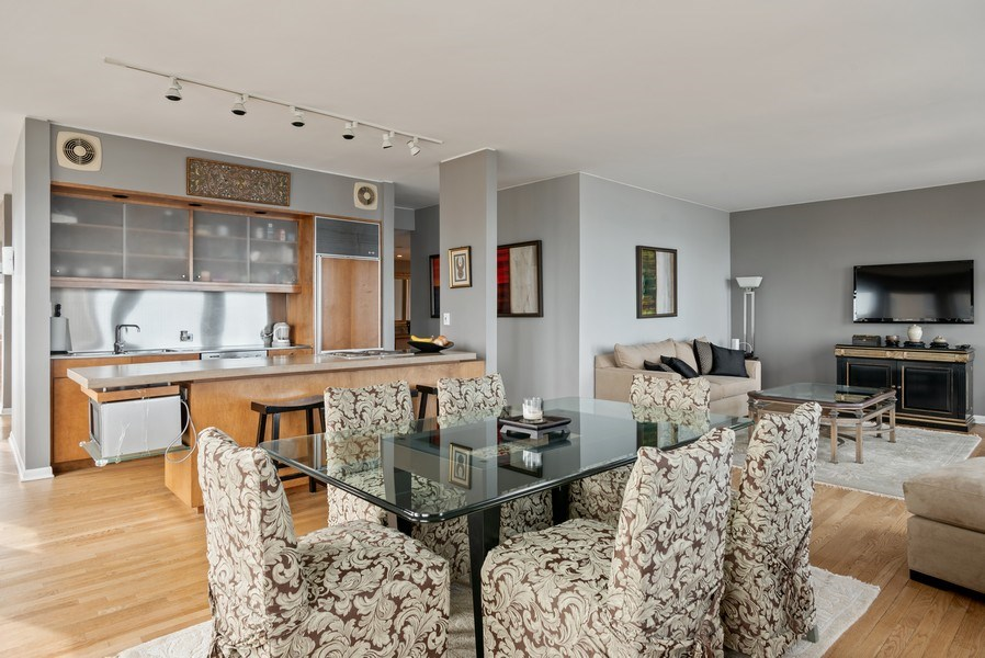 Real Estate Photography - 111 E Chestnut 57KJ, Chicago, IL, 60611 - Kitchen/Dining