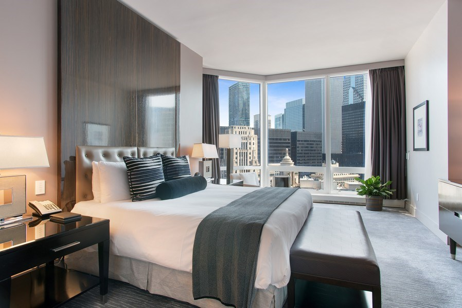Real Estate Photography - 401 N Wabash #2642, Chicago, IL, 60611 - Bedroom