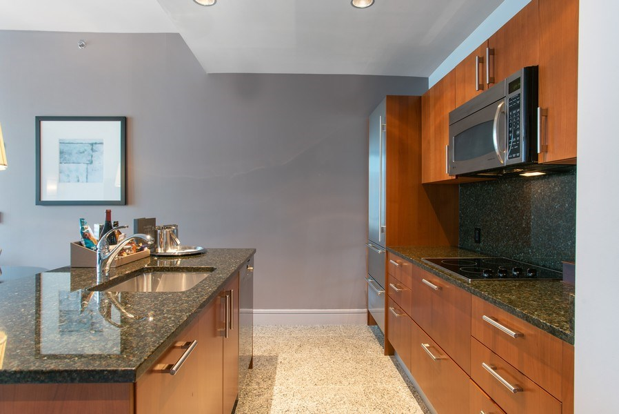 Real Estate Photography - 401 N Wabash #2642, Chicago, IL, 60611 - Kitchen