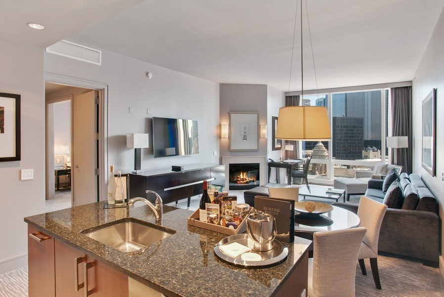 Real Estate Photography - 401 N Wabash #2642, Chicago, IL, 60611 - Kitchen / Dining Room