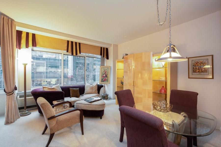 Real Estate Photography - 211 E Ohio, Unit 505, Chicago, IL, 60611 - Living Room