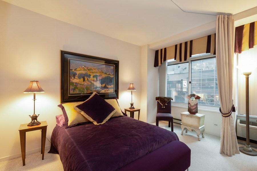 Real Estate Photography - 211 E Ohio, Unit 505, Chicago, IL, 60611 - Bedroom
