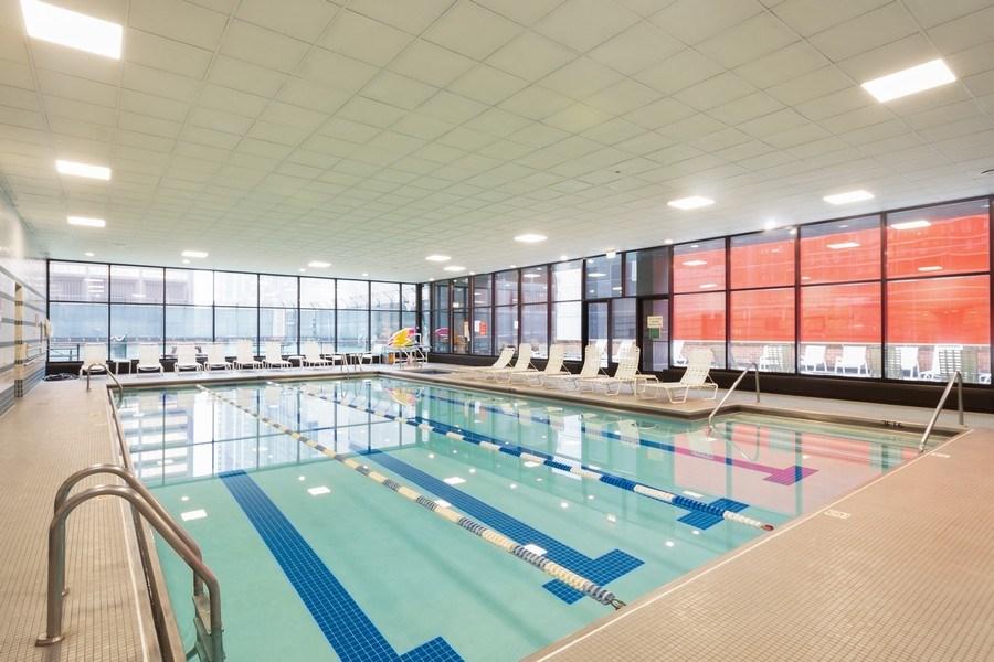 Real Estate Photography - 211 E Ohio, Unit 505, Chicago, IL, 60611 - Pool