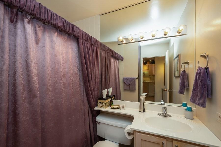 Real Estate Photography - 211 E Ohio, Unit 505, Chicago, IL, 60611 - Bathroom