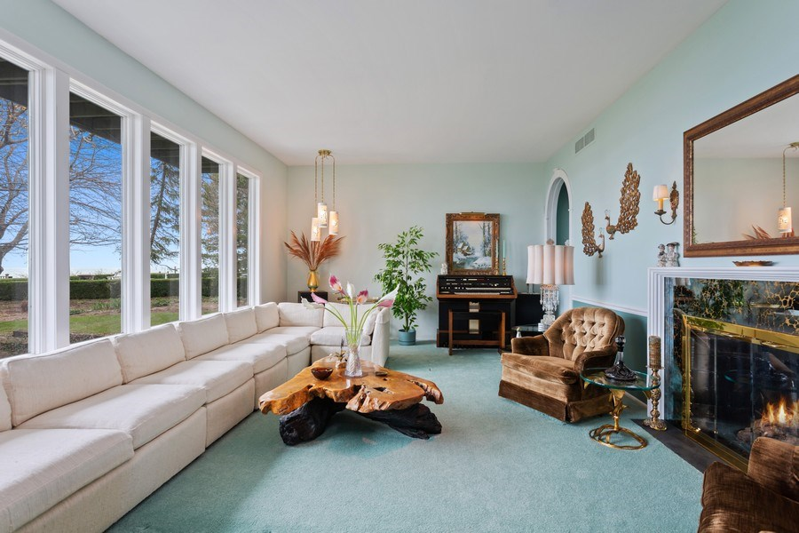Real Estate Photography - 11791 Marquette Drive, New Buffalo, MI, 49117 - Living Room