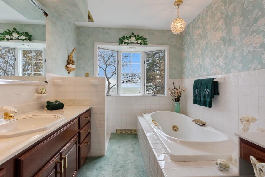Real Estate Photography - 11791 Marquette Drive, New Buffalo, MI, 49117 - Master Bathroom
