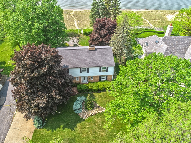 Real Estate Photography - 11791 Marquette Drive, New Buffalo, MI, 49117 - Aerial View