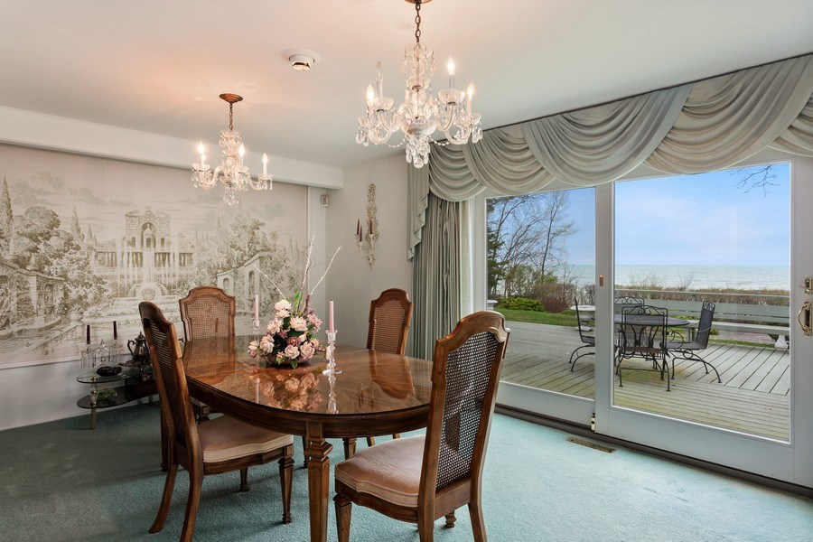 Real Estate Photography - 11791 Marquette Drive, New Buffalo, MI, 49117 - Dining Room