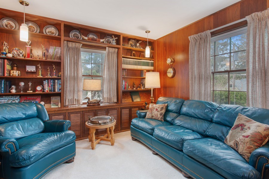 Real Estate Photography - 11791 Marquette Drive, New Buffalo, MI, 49117 - Main Floor Bedroom Suite or Den