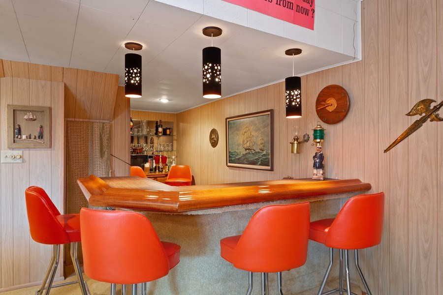 Real Estate Photography - 11791 Marquette Drive, New Buffalo, MI, 49117 - Bar