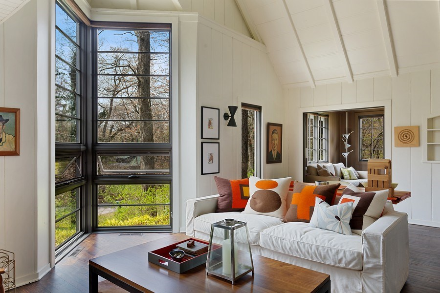 Real Estate Photography - 3922 Michiana Drive, New Buffalo, MI, 49117 - Living Room