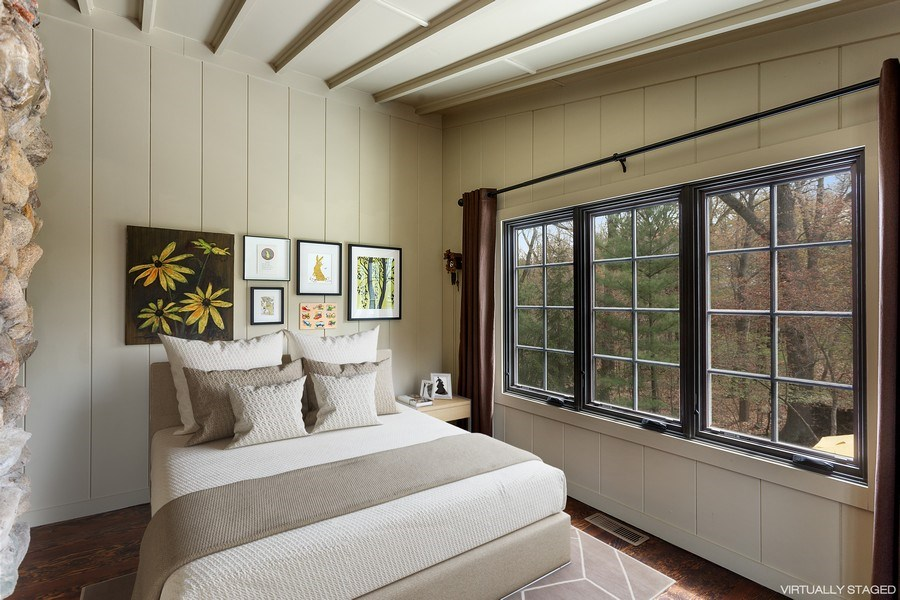 Real Estate Photography - 3922 Michiana Drive, New Buffalo, MI, 49117 - Bedroom #4 Second Floor