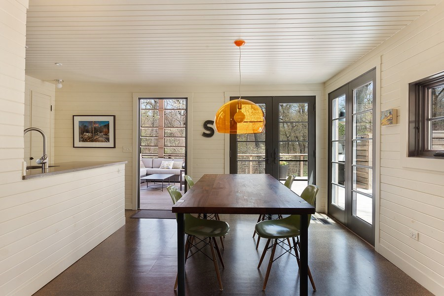 Real Estate Photography - 3922 Michiana Drive, New Buffalo, MI, 49117 - Dining Room