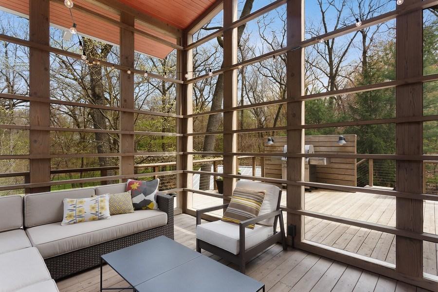 Real Estate Photography - 3922 Michiana Drive, New Buffalo, MI, 49117 - Screened Porch