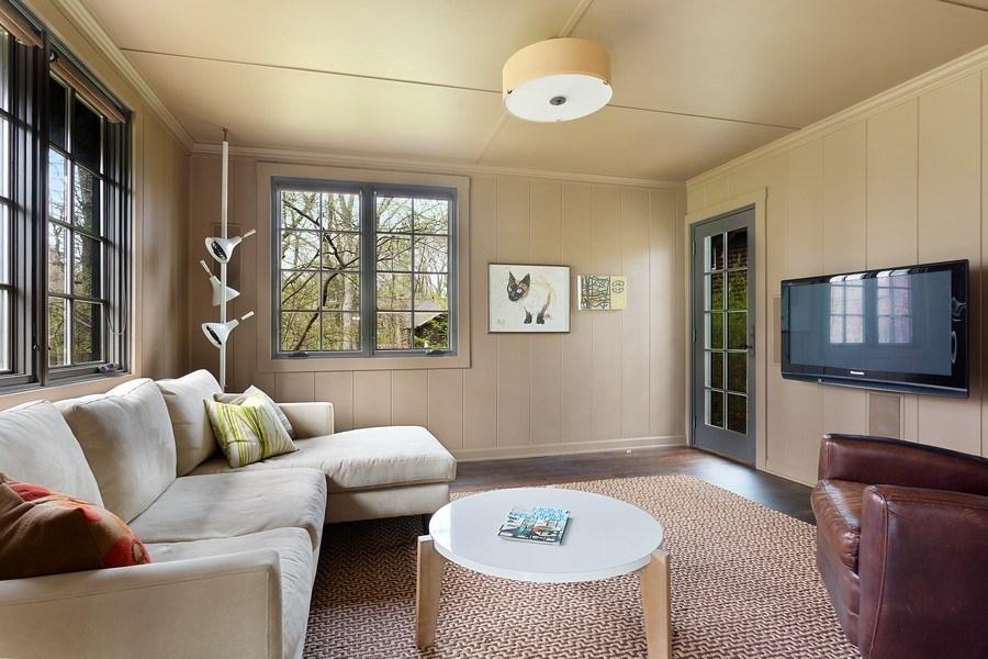 Real Estate Photography - 3922 Michiana Drive, New Buffalo, MI, 49117 - Bedroom #1 Main Floor Used as Den