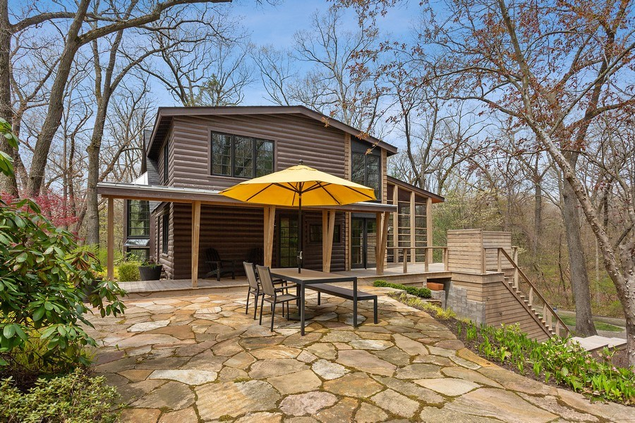 Real Estate Photography - 3922 Michiana Drive, New Buffalo, MI, 49117 - Side View