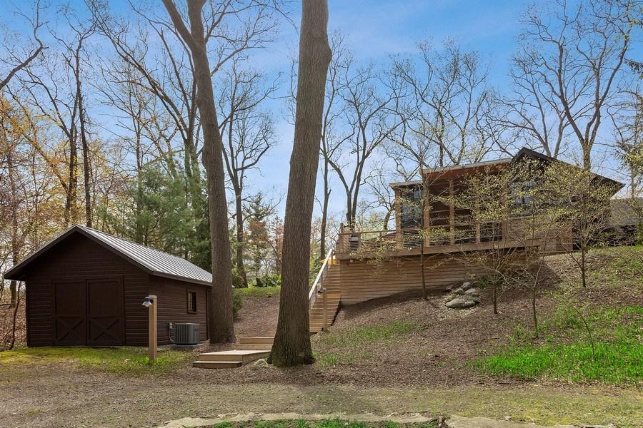 Real Estate Photography - 3922 Michiana Drive, New Buffalo, MI, 49117 - Rear View