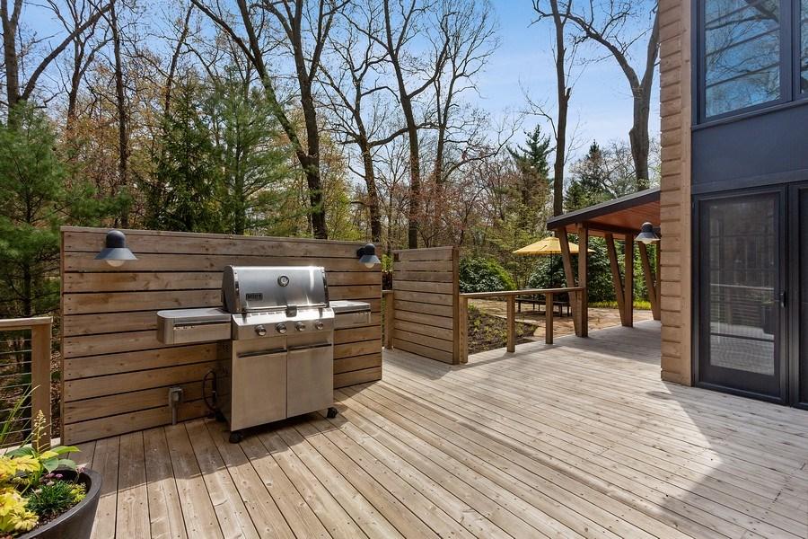 Real Estate Photography - 3922 Michiana Drive, New Buffalo, MI, 49117 - Deck