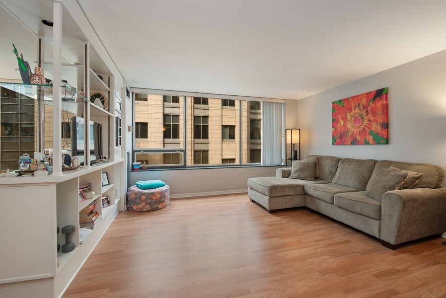 Real Estate Photography - 233 E. Erie, #902, Chicago, IL, 60611 - Living Room