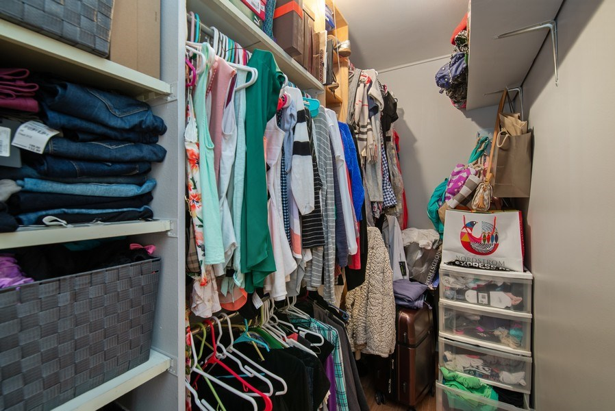Real Estate Photography - 233 E. Erie, #902, Chicago, IL, 60611 - Closet